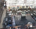 Памятник Юрию Долгорукому (1954) на Тверской (Советской) площади. Март 2012. Автор: Алексей Сидельников