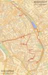 Подробный маршрут прогулки общества «Московские древности» по бульварам и Хитровке 6 мая 2012
