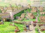 Васнецов А.М. Лубяной торг на Трубе в XVII веке