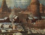 Васнецов А.М. Старое устье Неглинной в конце XVII века