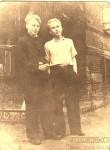 4. Молодежь 1950 г. Владимир и Александр