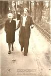5. Май 1954 г. Моя бабушка Валя с братом Володей