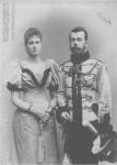 Император Николай II и императрица Александра Феодоровна. Фото 1896 года
