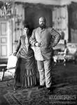 Мария Фёдоровна и Александр III в Дании. Фото 1892 года