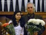Лана Думбадзе и Заслуженный артист России Александр Майкапар