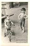 6. Юные москвичи. 1966. Мама (слева) с соседом Сережей