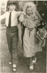 9. Так веселились юные москвичи в 1972 году. Мама (справа) с соседкой Мариной.