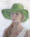 Елизавета Трофимова. Автопортрет. Холст, масло. 60x80. 2008