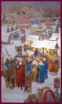Елизавета Трофимова. Москва купеческая, XVII век. Холст, масло. 173х80. 2010