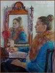 Елизавета Трофимова. Портрет Яны. Холст, масло. 60x80. 2010