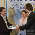 Вручение премии «Сорок сороков» историку Сергею Шокареву