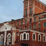 Здание бумагопрядильной фабрики в Орехово-Зуево середины XIX века
