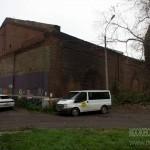 Склады хлопка при Морозовских фабриках в Орехово-Зуево