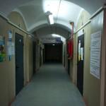 Коридор казармы в Орехово-Зуево