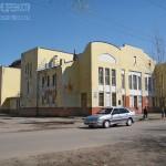 Театр при фабрике в Орехово-Зуево, постоен при участии Ф. Шехтеля