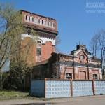 Водонапорная башня при фабриках в Орехово-Зуево