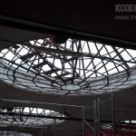 Световой фонарь в здании Новоткацкой фабрики в Ногинске