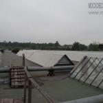 Крыша Новоткацкой фабрики в Ногинске