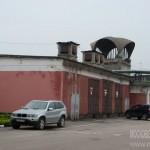 Фасад Новоткацкой фабрики в Ногинске
