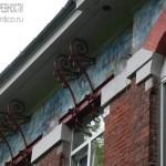 Родильный приют при Морозовской фабрике в Ногинске, деталь