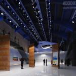 Выставочный зал, устроенный в корпусе Даниловской мануфактуры в Москве