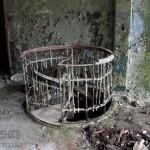 Винтовая лестница на фабрики Коншиных «Старая мыза» в Серпухове