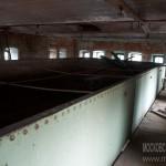 Бак для воды в водонапорной башне на фабрике Коншиных в Серпухове