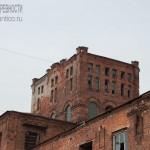 Водонапорная башня на фабрике Коншиных в Серпухове, середина XIX века