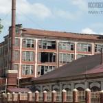 Разрушенный железобетонный корпус фабрики Малютиных в Раменском