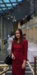 Анна Федорец перед торжественной церемонией вручения премии Золотой Дельвиг