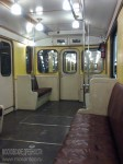 Ретропоезд «Сокольники». Оформлении интерьера вагона