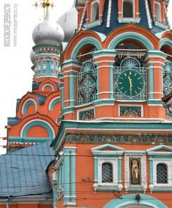 Церковь Георгия Неокесарийского на Полянке (фрагмент)