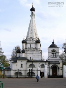 Церковь Покрова в Медведково