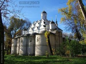 Церковь Покрова в Рубцове