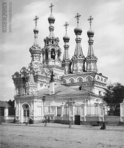 Церковь Рождества Богородицы в Путинках (фото 1880-х гг.)