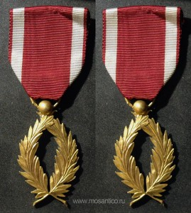 Королевство Бельгия. Знак отличия Ордена Короны Золотые пальмы (фр. Insignes de l'Ordre de la Couronne d'Or Palm)