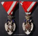 Королевство Сербия, Королевство Югославия. Орден Белого орла V степени (серб. Орден белог орла). Период 1914-1941 годов. Фирма-изготовитель «Arthus Bertrand» (Париж, Франция)