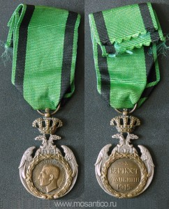 Королевство Сербов, Хорватов и Словенцев. Медаль Албанского отступления (Албанская споменица). 1920