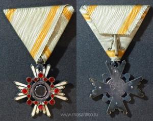 Знак ордена Священного сокровища VI степени