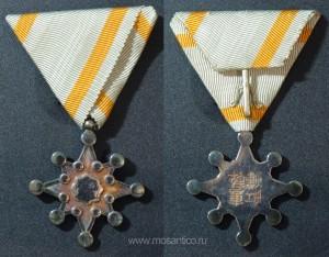 Знак ордена Священного сокровища VIII степени