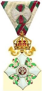 Орден «За гражданские заслуги» IV степени с короной. Ищем треугольную колодку с розеткой!