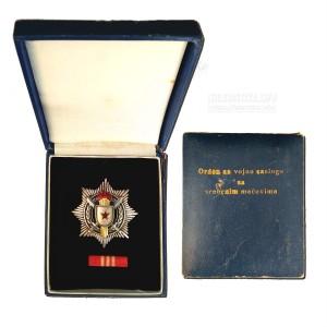 Орден за војне заслуге са сребрним мачевима
