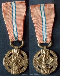 Первая Чехословацкая Республика 1918 — 1938. Революционная медаль