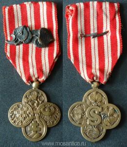 Первая Чехословацкая Республика 1918 — 1938. Военный крест 1918 года