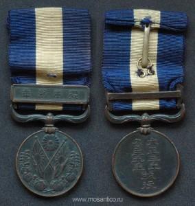 Японская империя. Медаль за кампанию 1914—1920 годов (известная в России как медаль за Сибирскую интервенцию)