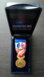Золотая почётная Медаль Труда (фр. Médaille d'Honneur du Travail)