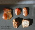 Каменные орудия труда (кремень). Скребки. Неолит (V-III тыс. до н.э.). Сергиево-Посадский район, Московская область
