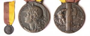 Medaglia commemorativa della Marcio su Roma 29, 30, 31 ottobre 1922