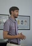 Михаил Михайлович Тренихин презентует свою выставку «Книга и фарфор: графика Михаила Тренихина»
