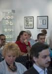 Писатели, гости выставки «Книга и фарфор: графика Михаила Тренихина»